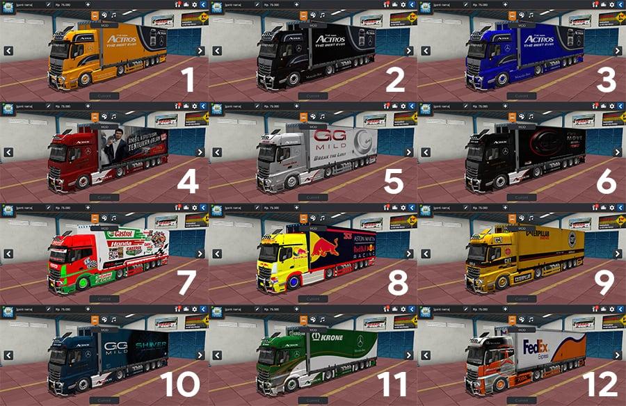 Actross V2 RSM Garage