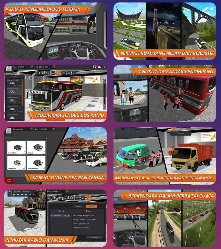 Gameplay Bus Simulator Indonesia
