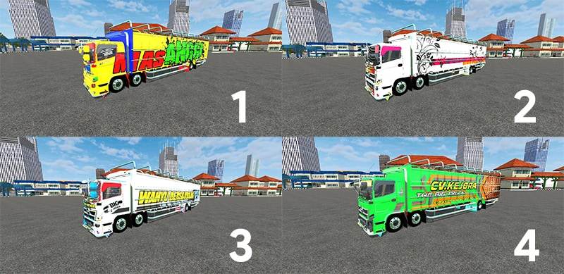 Truck Hino 500 C6 by SMC
