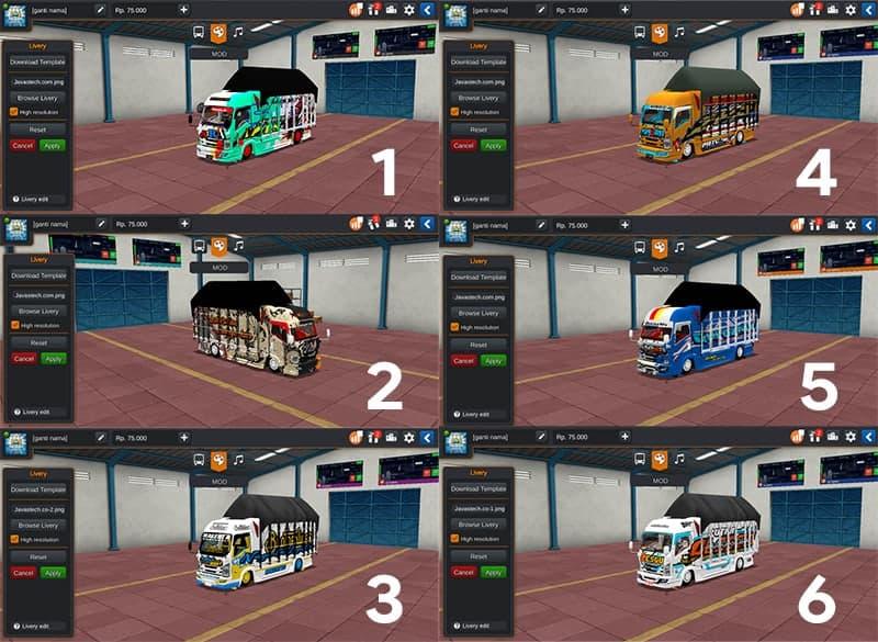 Truck Isuzu NMR71 125PS Restu by Souleh Art