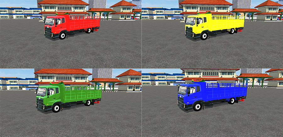 Truck UD Quester GKE280 by Angga Rukmana