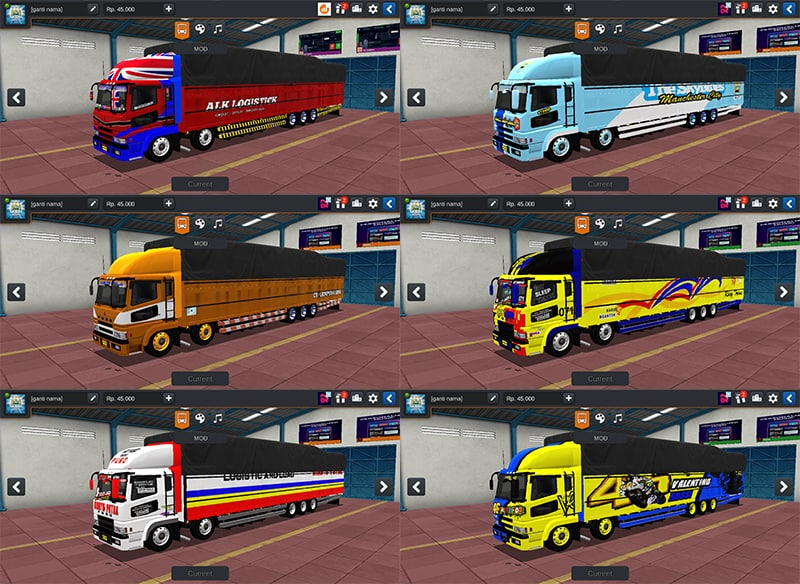 Truck Fuso SG Tribal by WSP