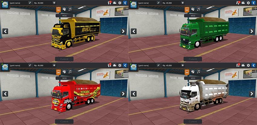 Truck Hino Dump 500 NG by WNR ESP