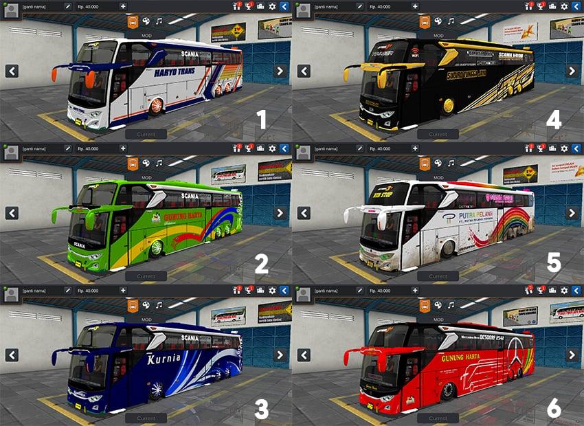 Livery JB3+ Scania Tronton Angga cvt MDC
