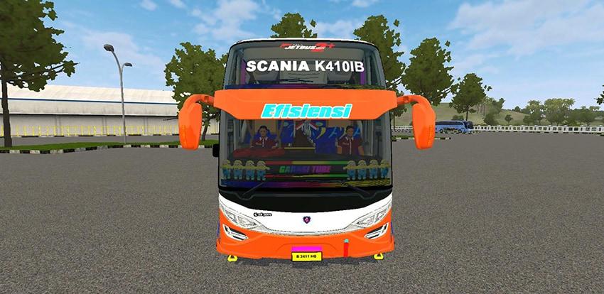Tampak Depan JB2 SHD Scania Tronton Angga Aldova