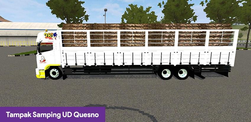 Tampak Samping UD Quesno