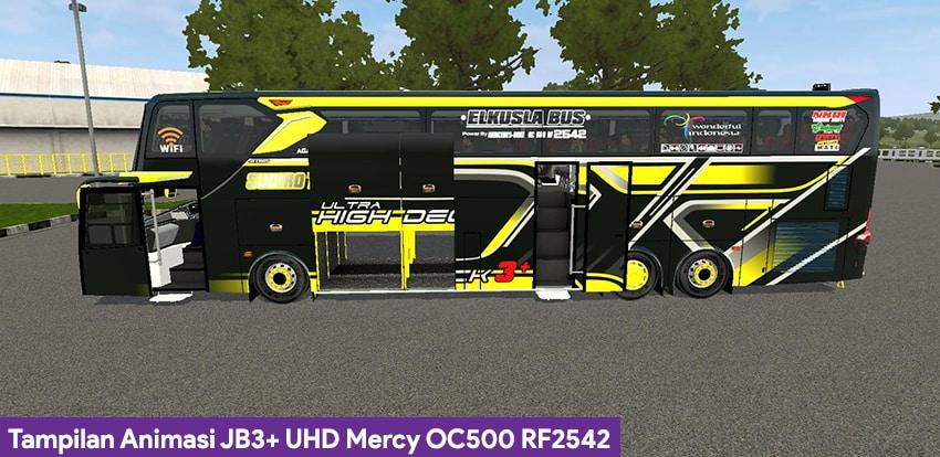 Tampilan Animasi JB3+ UHD Mercy OC500 RF2542 Angga MDC