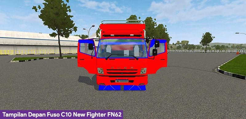 Tampilan Depan Fuso C10 FN62