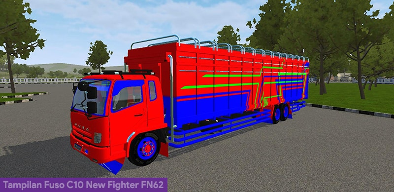 Tampilan Fuso C10 New Fighter FN62