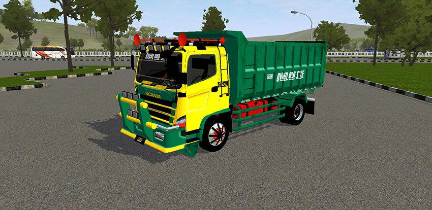 Tampilan Hino Dump Scania