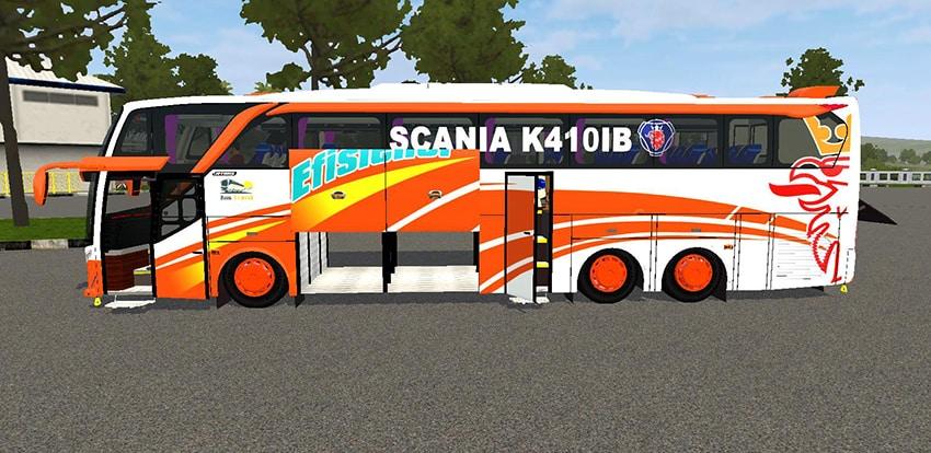Tampilan Samping JB2 SHD Scania Tronton Angga Aldova