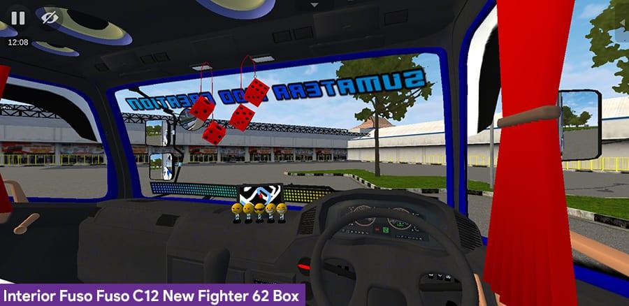 Interior Fuso C12 New Fighter 62 Box by SMC