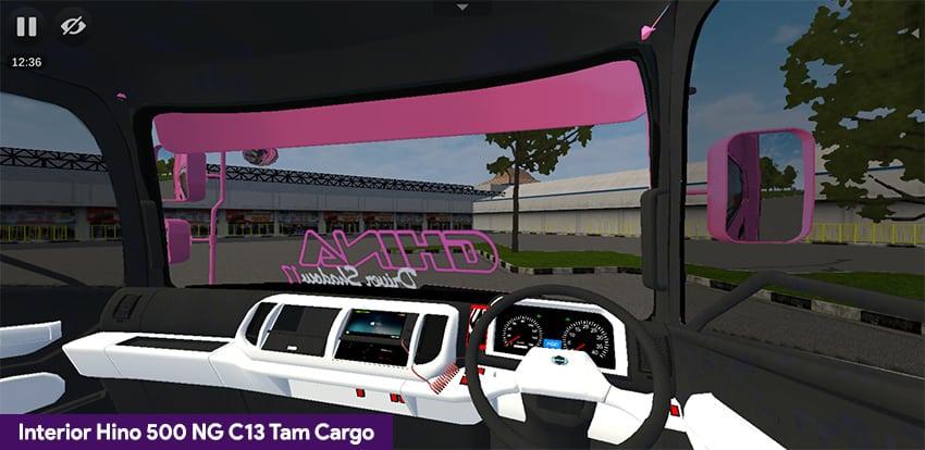 Interior Hino 500 NG C13 Tam Cargo