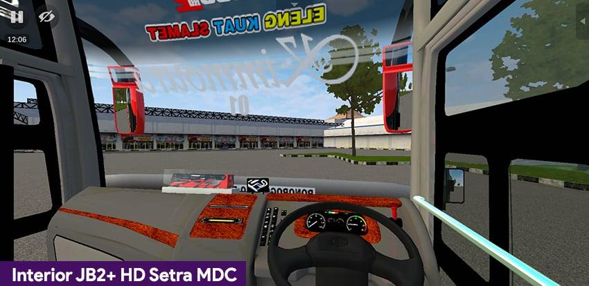 Interior JB2+ HD Setra MDc