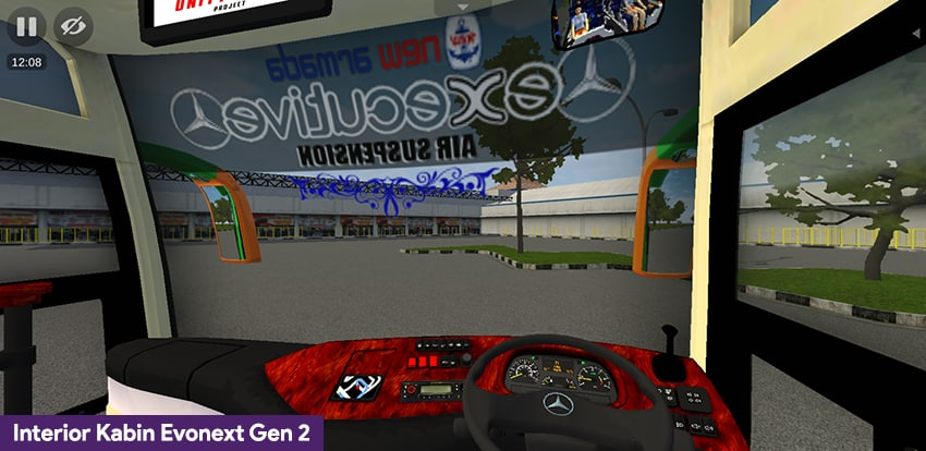 Interior kabin Evonext Gen 2
