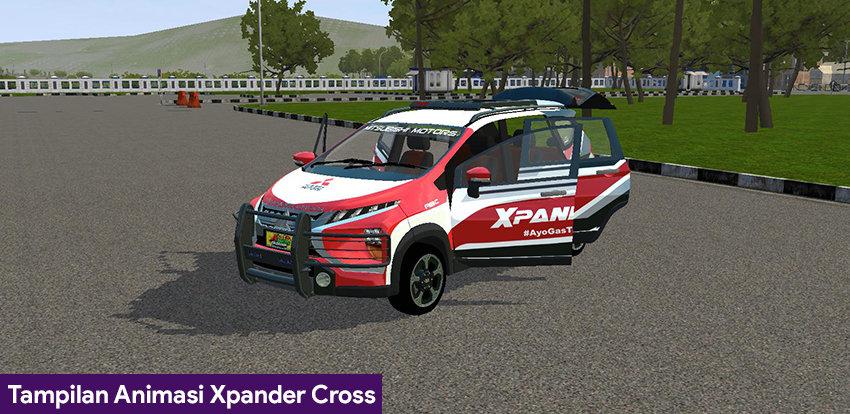 Tampilan Animasi Xpander Cross