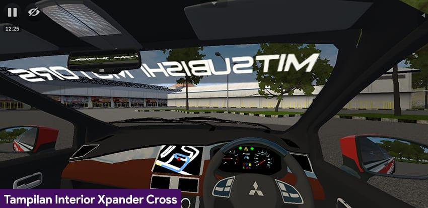 Tampilan Interior Xpander Cross