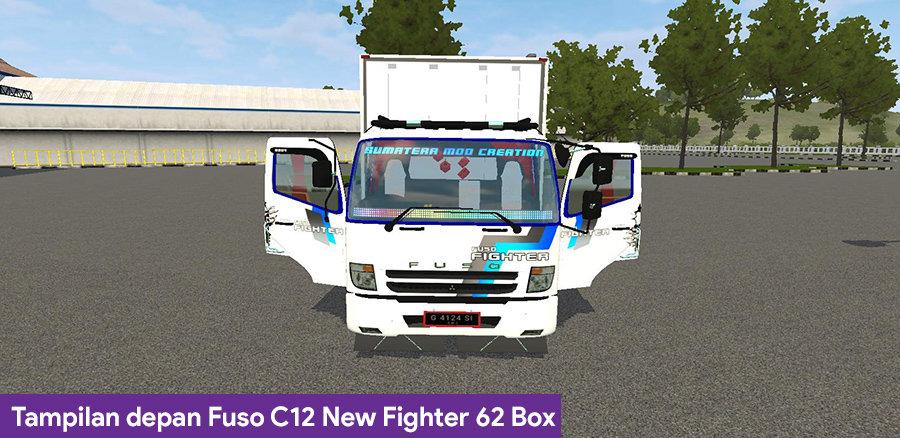 Tampilan depan Fuso C12 New Fighter 62 Box