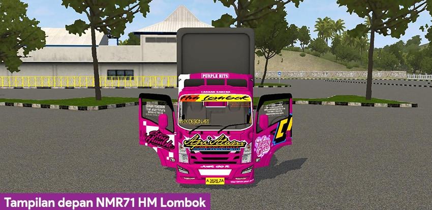 Tampilan depan NMR71 HM Lombok