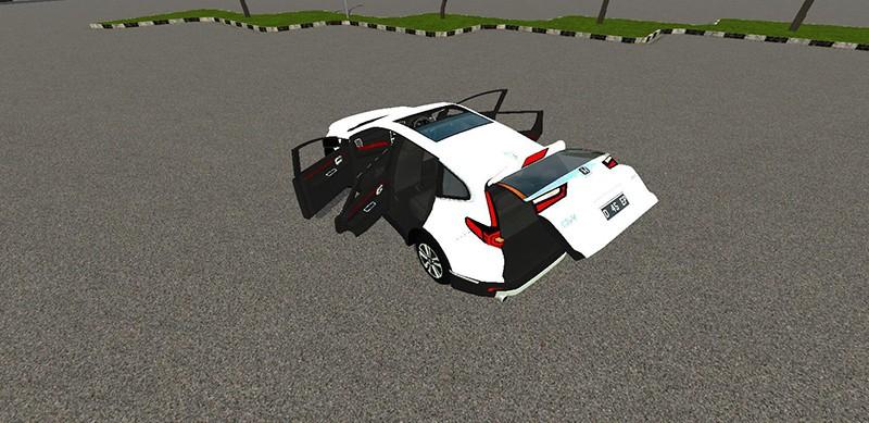 Animasi Honda CR-V Prestige