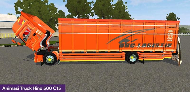 Animasi Truck Hino 500 C15