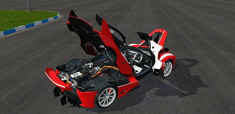 Detail Mesin Ferrari FXX-K