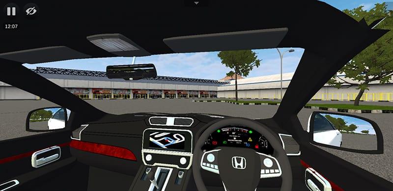 Interior Honda CR-V Prestige