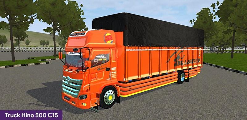 Truck Hino 500 C15